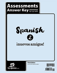 Spanish 2 Assessments Answer Key, 3rd ed.