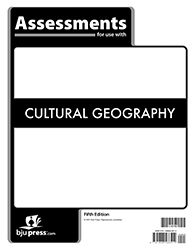 Cultural Geography Assessments, 5th ed.