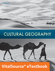 Cultural Geography eTextbook Student Edition, 5th ed.