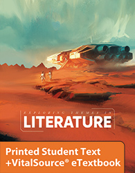 Exploring Themes in Literature eTextbook & Printed Student Edition, 5th ed.