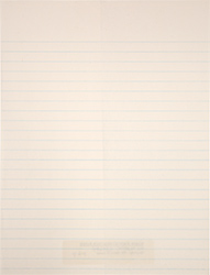 White Writing Paper