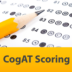 Level 10 CogAT Form 7 Scoring (answer document)