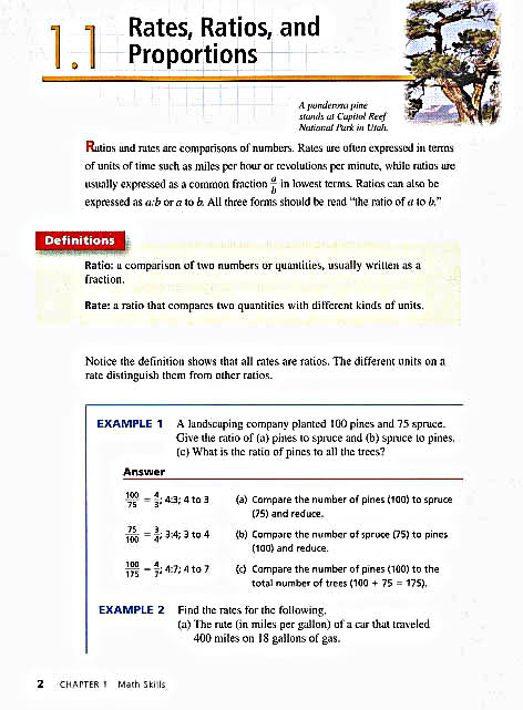 Consumer math worksheets with answers