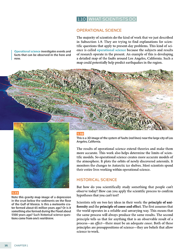 Secondary Science | The Materials for Earth Science | BJU Press