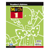 Math 1 Teacher's Edition with CD (3rd ed.)