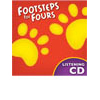 K4 Footsteps for Fours Listening CD