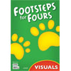 K4 Footsteps for Fours Teacher's Visual Packet (2nd ed.)