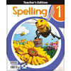 Spelling 1 Teacher's Edition with CD (3rd ed.)