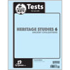 Heritage Studies 6 Tests Answer Key (4th ed.)