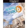 Heritage Studies 6 Student Activity Manual Answer Key (3rd ed.)