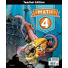 Math 4 Teacher's Edition (4th ed.)
