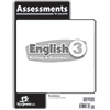English 3 Assessments, 3rd ed.