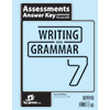 Writing & Grammar 7 Assessments Answer Key, 4th ed.