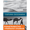 Cultural Geography eTextbook & Printed Student Edition, 5th ed.