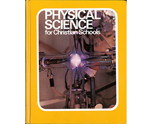the cover of the first Physical Science textbook