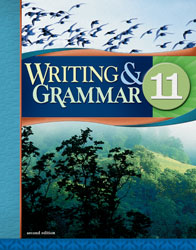 English 11, 2nd ed. by BJU Press (textbook cover image)