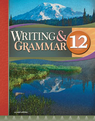 English 12, 2nd ed. by BJU Press (textbook cover image)
