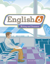 English 6, 2nd ed. by BJU Press (textbook cover image)