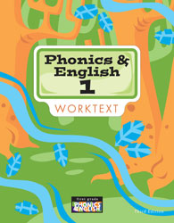 English 1, 3rd ed. by BJU Press (textbook cover image)