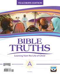 Bible A, 3rd ed. by BJU Press (textbook cover image)