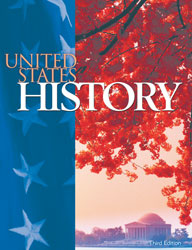 United States History, 3rd ed. by BJU Press (textbook cover image)
