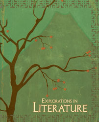 Explorations in Literature, 3rd ed. by BJU Press (textbook cover image)