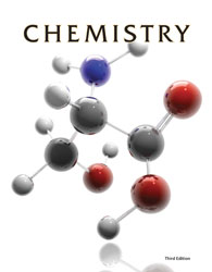Chemistry, 3rd ed. by BJU Press (textbook cover image)