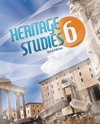 Heritage 6, 3rd ed. by BJU Press (textbook cover image)