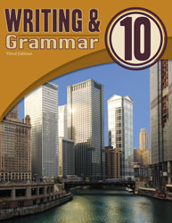 English 10, 3rd ed. by BJU Press (textbook cover image)