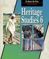 Heritage 6, 2nd ed. by BJU Press (textbook cover image)