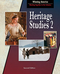 Heritage 2, 2nd ed. by BJU Press (textbook cover image)