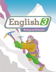 English 3, 2nd ed. by BJU Press (textbook cover image)