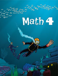 Math 4, 3rd ed. by BJU Press (textbook cover)