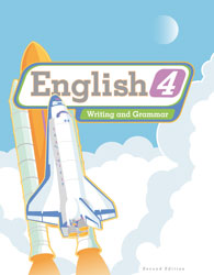 English 4, 2nd ed. by BJU Press (textbook cover image)
