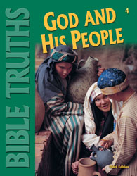 Bible 4, 3rd ed. by BJU Press (textbook cover image)