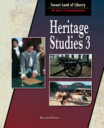 Heritage 3, 2nd ed. by BJU Press (textbook cover image)