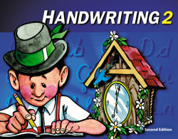 Handwriting 2, 2nd ed. by BJU Press (textbook cover)