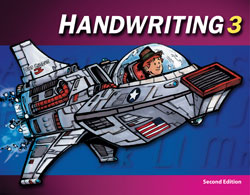 Handwriting 3, 2nd ed. by BJU Press (textbook cover)