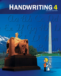 Handwriting 4, 2nd ed. by BJU Press (textbook cover)