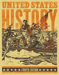 United States History, 4th by BJU Press (textbook cover image)