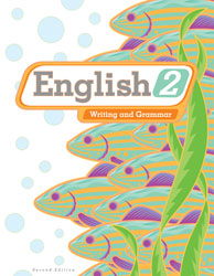 English 2, 2nd ed. by BJU Press (textbook cover image)