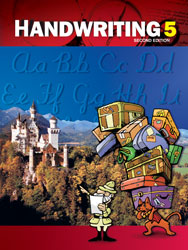 Handwriting 5, 2nd ed. by BJU Press (textbook cover)