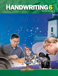 Handwriting 6, 2nd ed. by BJU Press (textbook cover)
