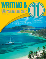 English 11, 3rd ed. by BJU Press (textbook cover image)