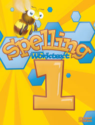 Spelling 1, 2nd ed. by BJU Press (textbook cover image)
