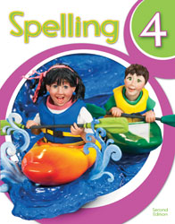 Spelling 4, 2nd ed. by BJU Press (textbook cover image)