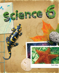 Science 6, 4th ed. by BJU Press (textbook cover image)