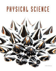 Physical Science, 5th ed. by BJU Press (textbook cover image)