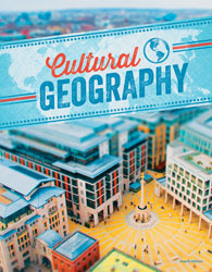 Cultural Geography, 4th ed. by BJU Press (textbook cover image)