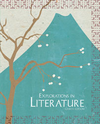 Explorations in Literature, 4th ed. by BJU Press (textbook cover image)